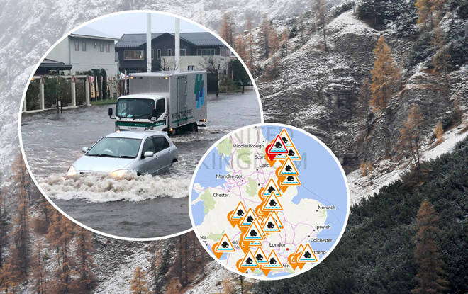 Flooding and freezing is likely for the country