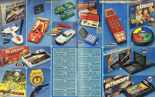 The toys available in them are so retro!