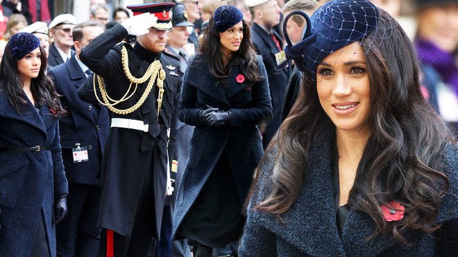The Duke and Duchess of Sussex attended the event in Westminster