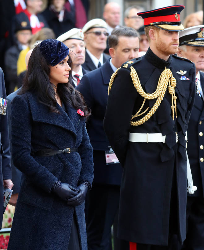The pair attended opening of The Field of Remembrance in London