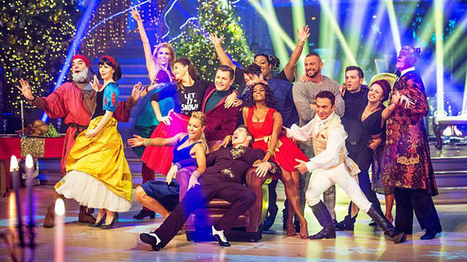 Who will be performing on the Strictly Christmas special?