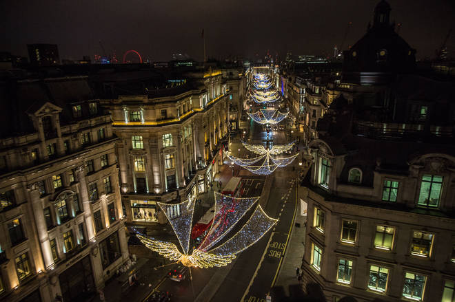 Regent Street is celebrating its 200th anniversary this year
