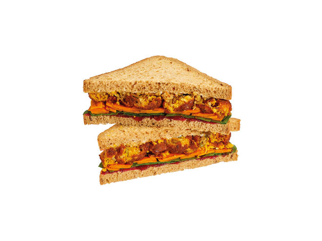 Costa Coffee's Veggies Under Vest Sandwich