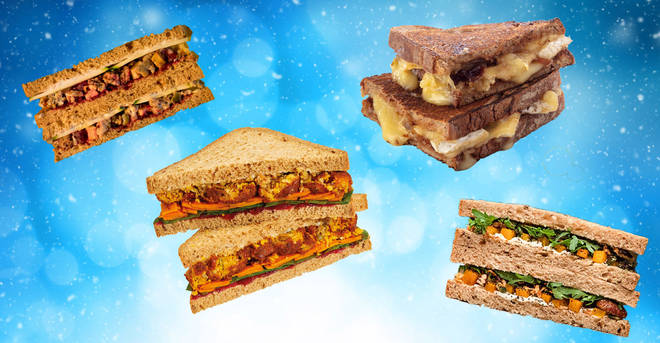 The best vegetarian Christmas sandwiches on the high street