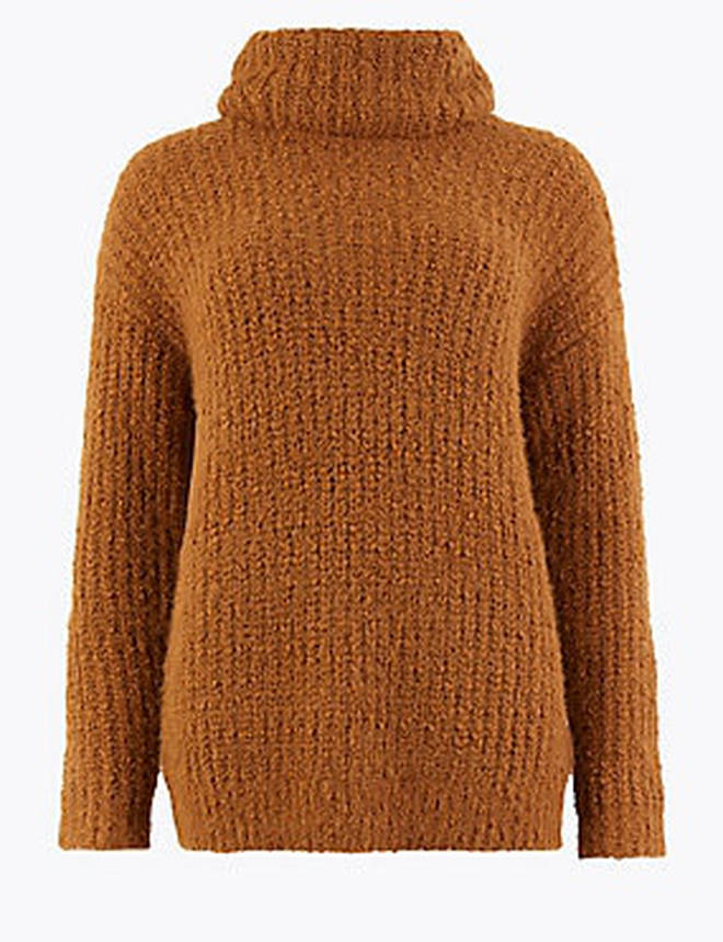 There's knitwear galore on the M&S