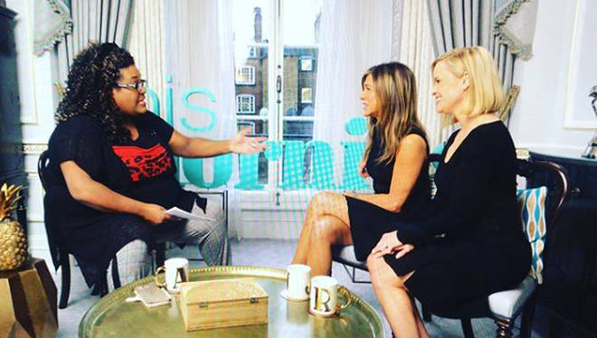 Alison recently interviewed Jennifer Anniston and Reese Witherspoon