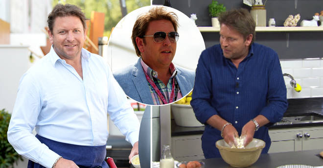 James Martin has lost five stone over the past few years