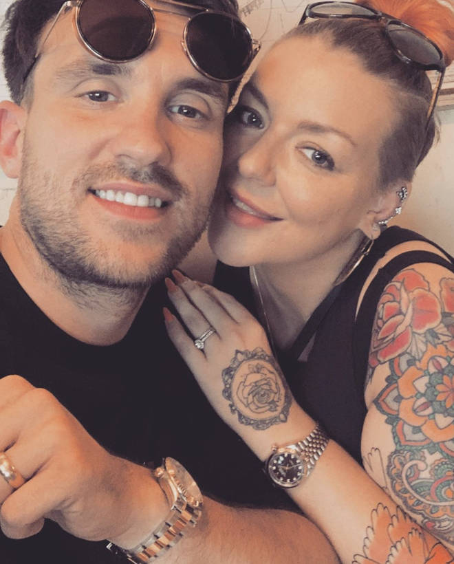 Sheridan and Jamie are engaged to be married and expecting their first child together