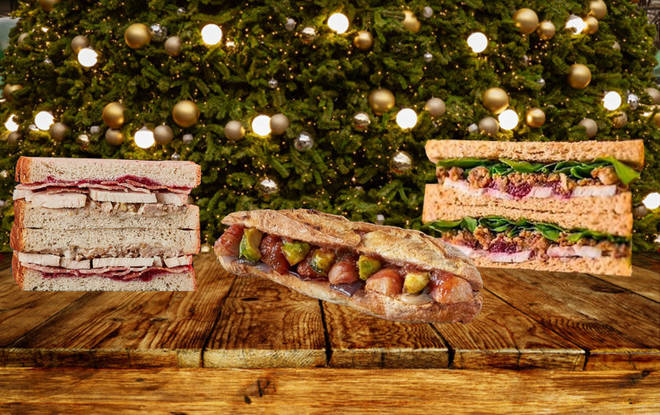 There's a huge range of sandwiches out there for you to sample