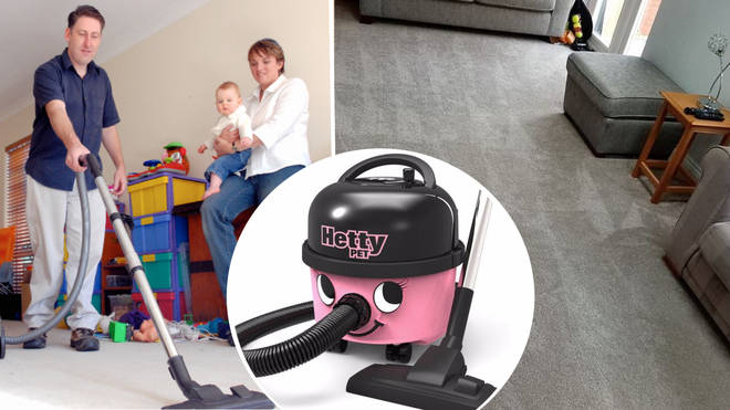 A cleaner has divided Facebook after admitting she loves to vacuum shapes into carpets.