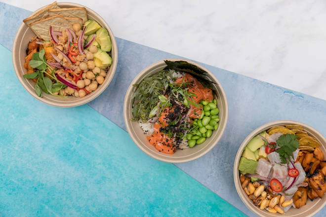 There are three dishes on the menu, and one is vegan-friendly