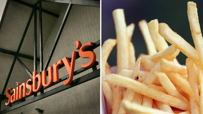 The supermarket giant has axed chips from children's menus in all its cafés.