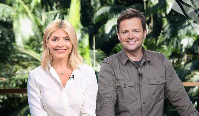 Dec presented I'm A Celeb with Holly Willoughby last year