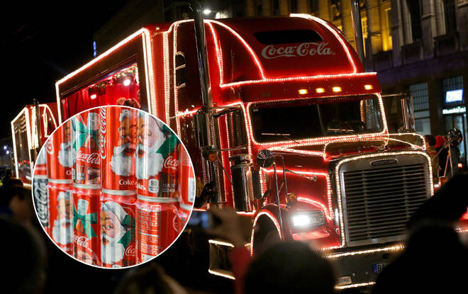 The Coca-Cola truck is coming to a city near you