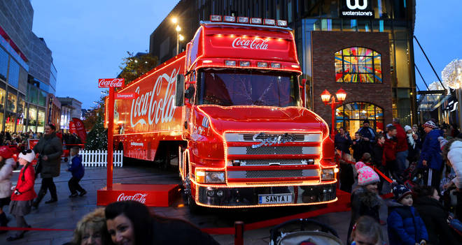 Coca-Cola's truck tour is kicking off this