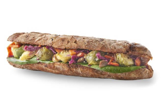 PAULS Bakery Christmas sandwich