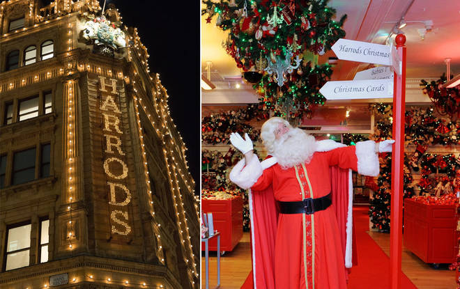 Some children will miss out on seeing Santa at Harrods