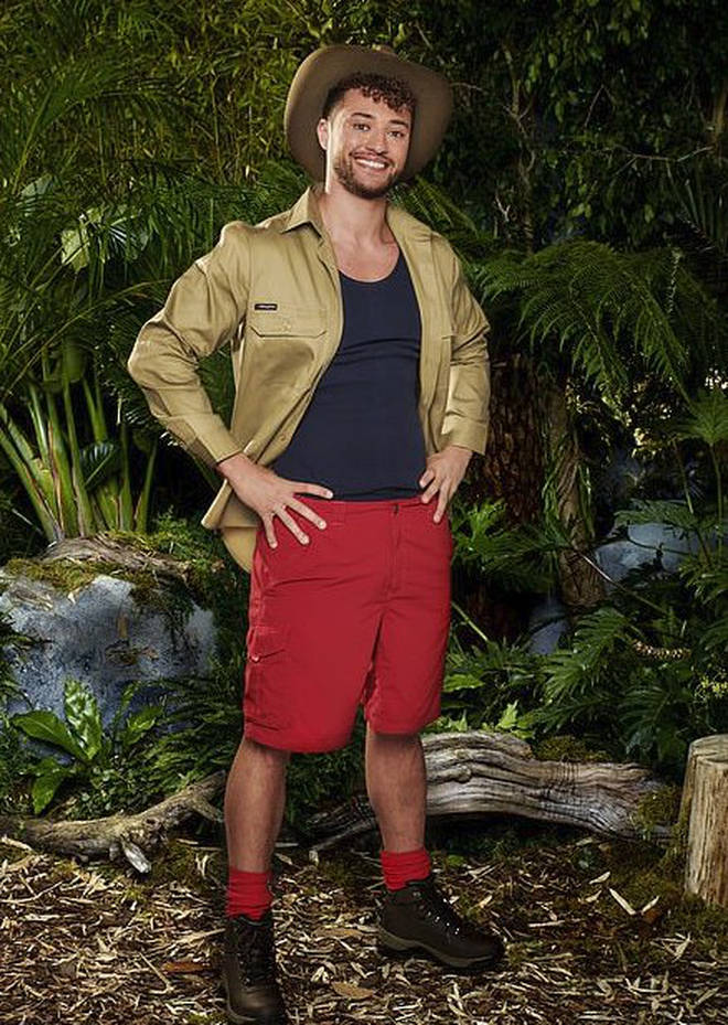 Myles Stephenson has joined the line-up for I'm A Celeb 2019.