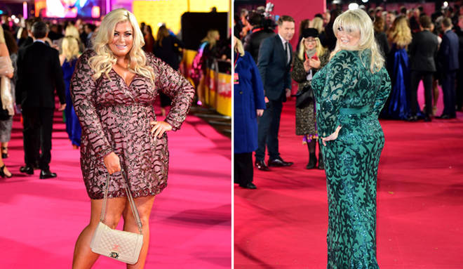 Gemma Collins is said to have lost three stone since 2017