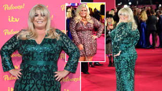 Gemma Collins looked amazing on the red carpet