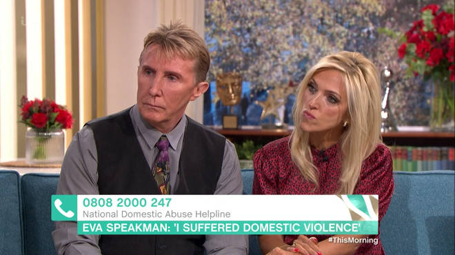 Eva Speakman told Holly and Phil her horrific experience of domestic abuse