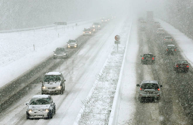 Snow is set to hit the UK very soon