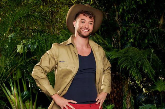 Myles will be entering the jungle this Sunday