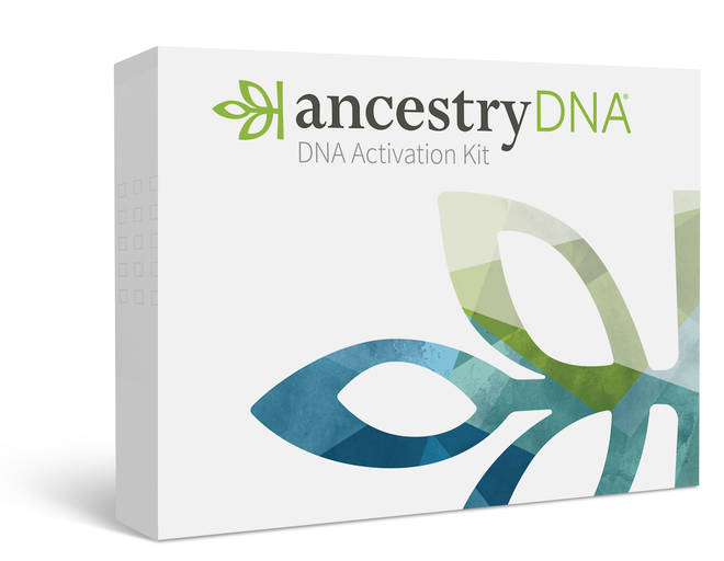 DNA Kit from Ancestry