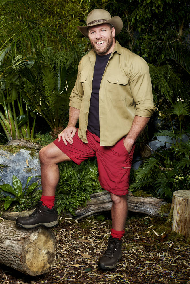 James has joined the I'm A Celeb line up