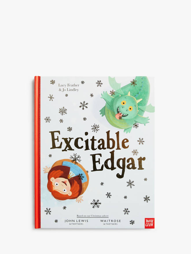 There is a story book - perfect for Christmas Eve boxes