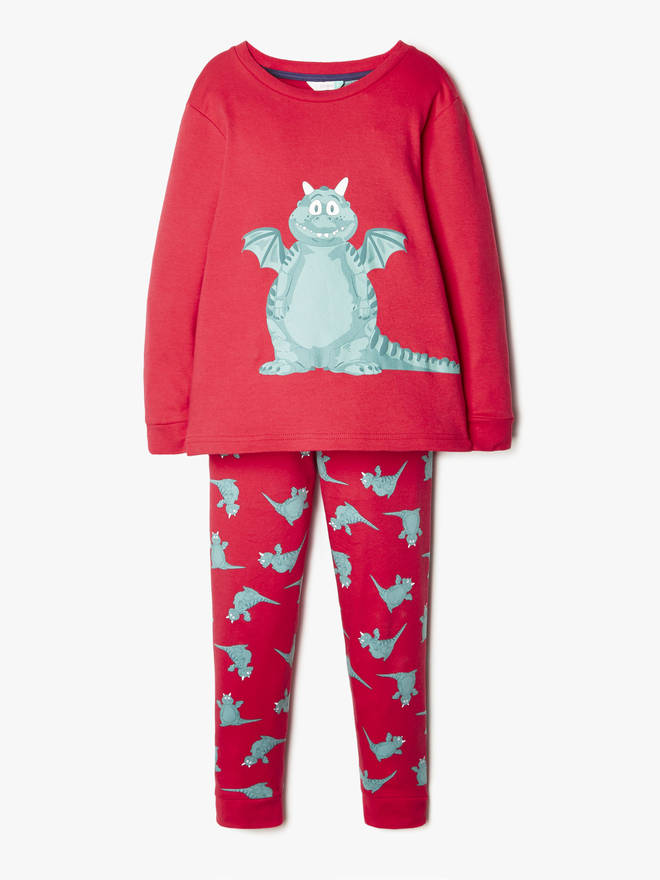 These PJs glow in the dark!