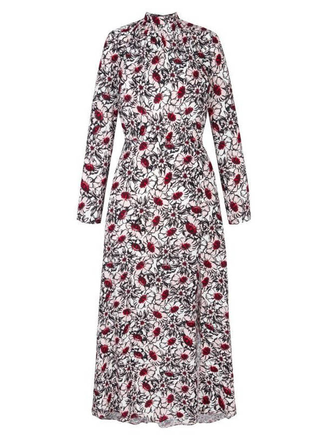 Holly's dress is £450