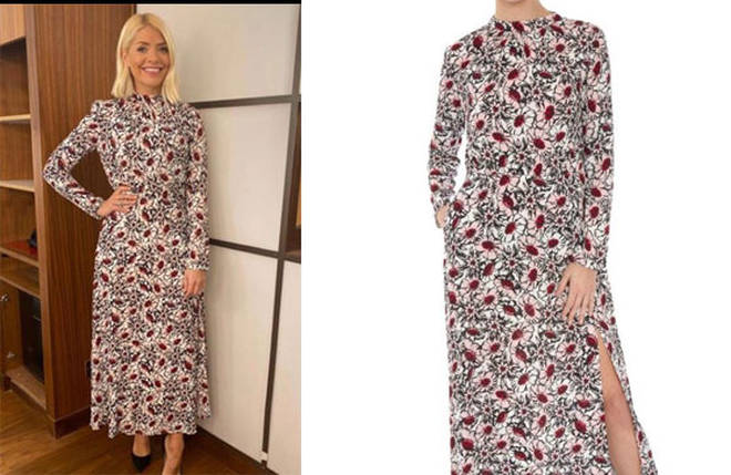 Holly Willoughby's dress is £450 from Markus Lupfer