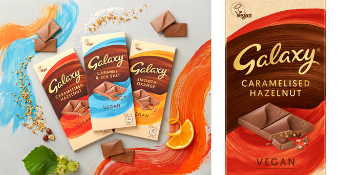 Galaxy have announced the launch of their first vegan chocolate bar