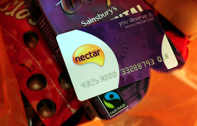 Emma has been racking up her points on the Nectar card