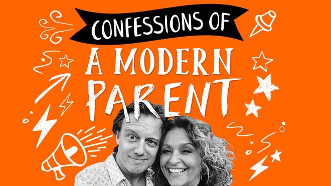 Nadia Sawalha and her husband Mark discuss modern parenting