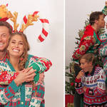 Stacey and Joe have released their Christmas photos