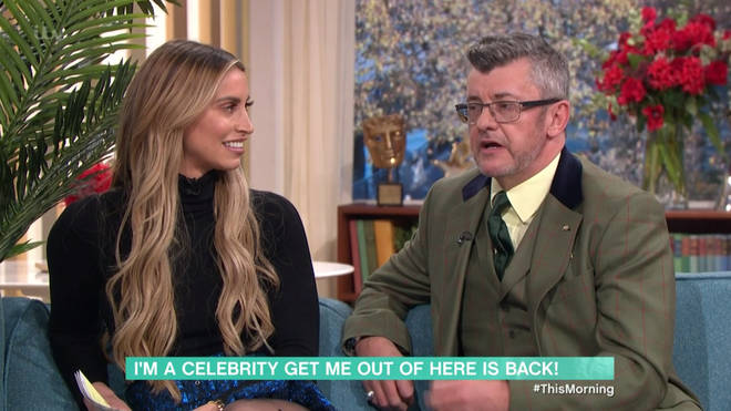 Joe Pasquale and Fearne McCann appeared on This Morning