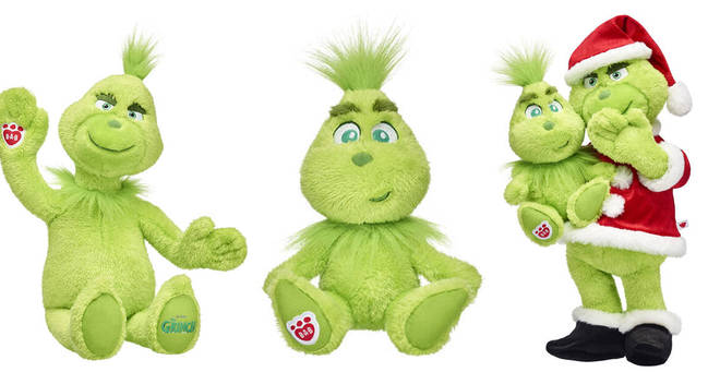 We're obsessed with this Grinch-inspired Build-A-Bear collection