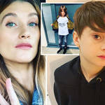 Charley Webb has shared a photo of her middle son
