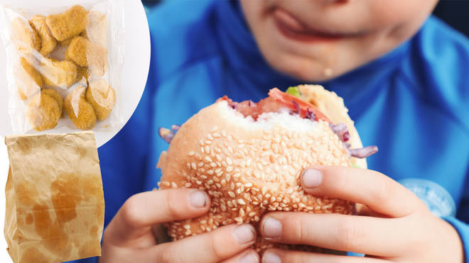 Mum defends sending son to school with COLD fast food for lunch