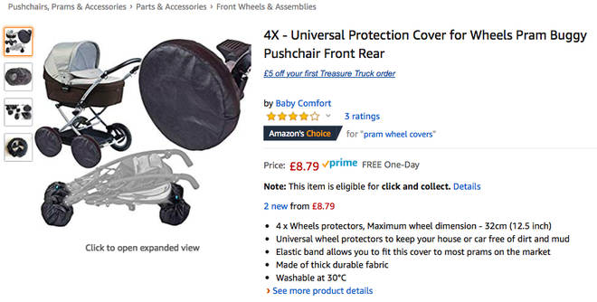 Buggy wheels protector