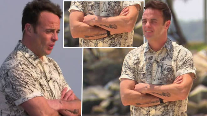 Ant McPartlin debuted his new tattoo