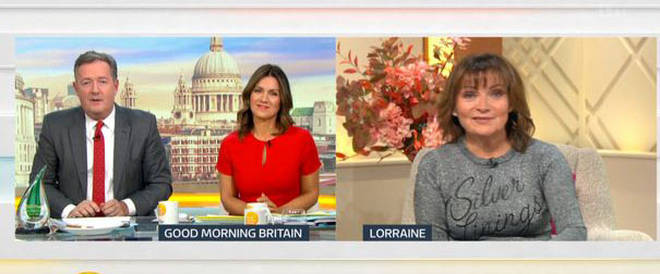 Lorraine hit out at Jennifer on GMB