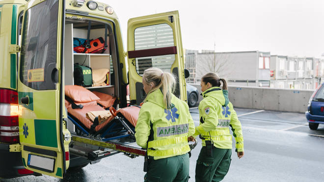 The public have been left outraged at the treatment towards to paramedic