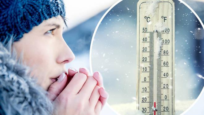 Temperature are set to plummet tonight across the UK