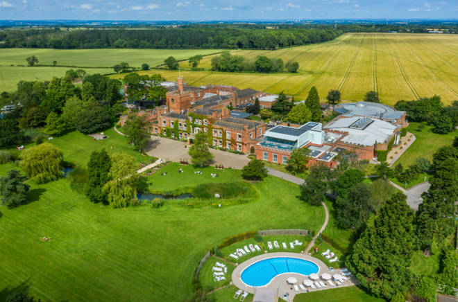 Ragdale Hall is situated in the middle of nowhere, with stunning views from every angle