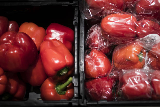 There's a number of packaging in supermarkets that use black plastic