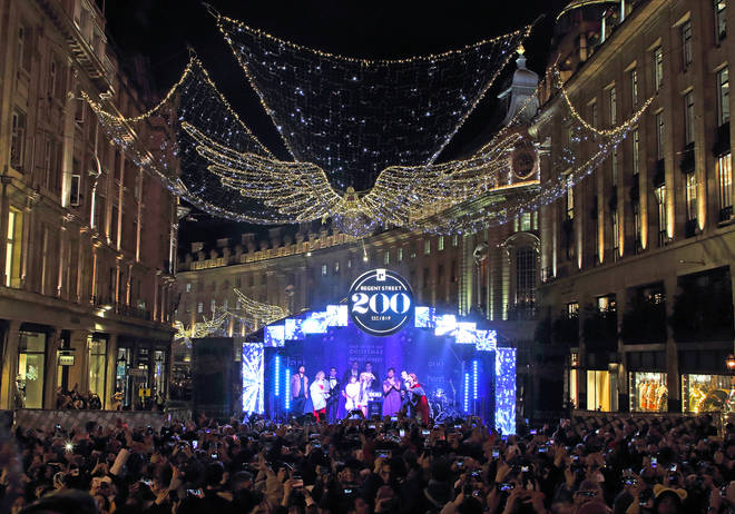 The Regent Street Christmas lights are more wonderful than ever before