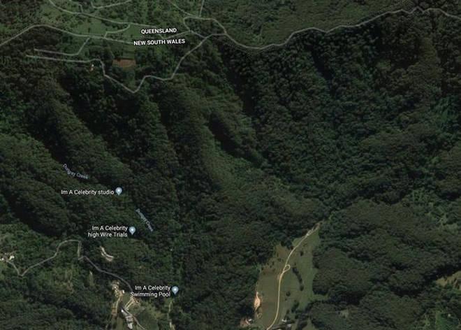 Google Maps reveals the camp's exact location